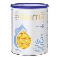 Wyeth Nutrition Illuma  HMO Stage 3, 1-3 Years Super Premium Milk Powder for Toddlers Tin, 400g