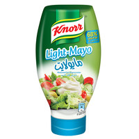 Knorr Reduced Fat Light Mayonnaise 532ml