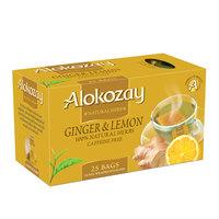 Alokozay Ginger and Lemon Tea 25 Tea Bags