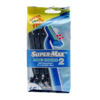 Supermax Long Handle Razor Pack of 16