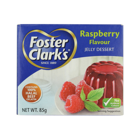 Superior Encogimiento eso es todo  Buy Foster Clark's Raspberry Flavour Jelly Dessert 85g Online - Shop Food  Cupboard on Carrefour UAE