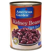 American garden Dark Red kidney Beans 400g