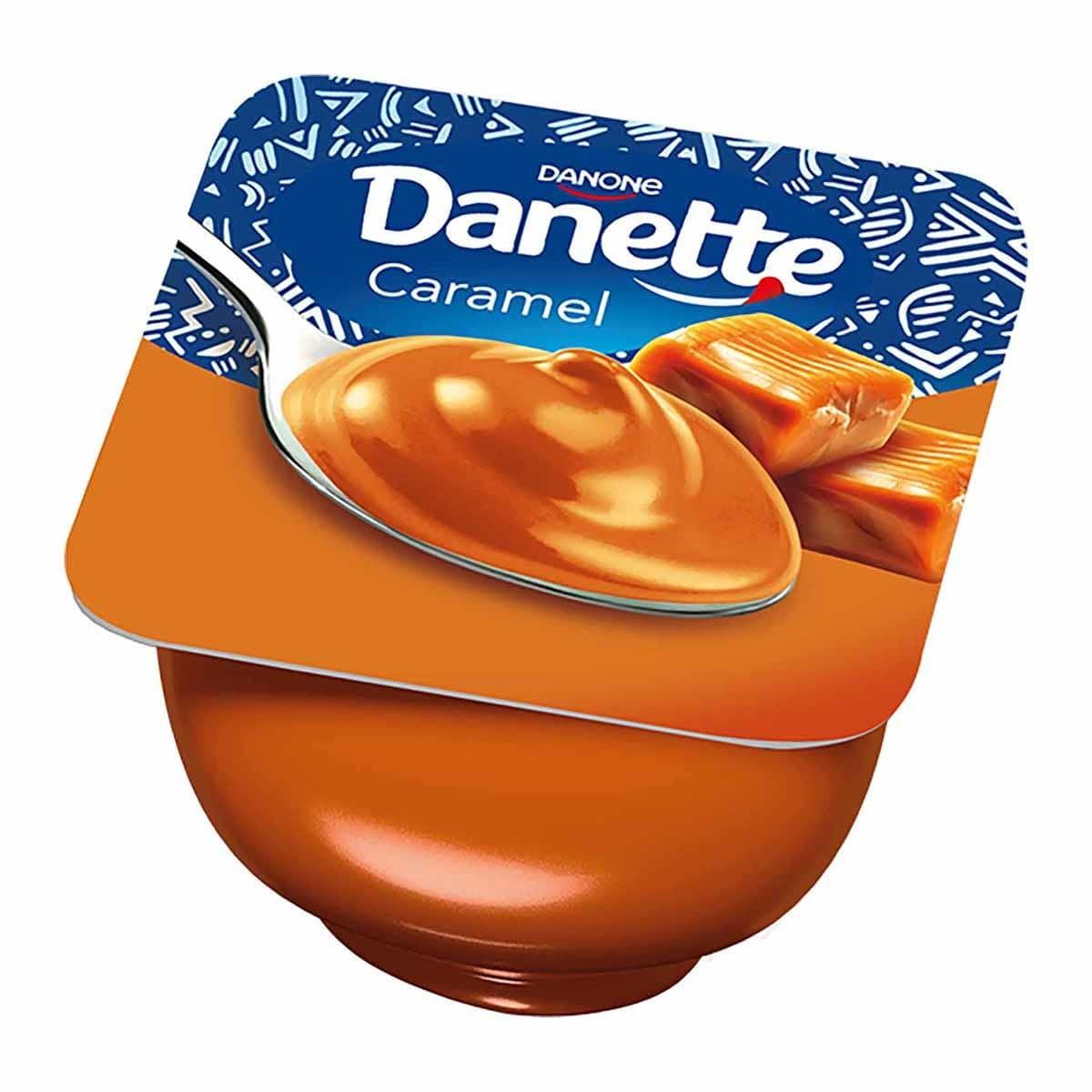 Buy Danette Caramel Pudding 100gm Online Shop Fresh Food On Carrefour Egypt