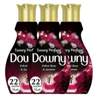 Downy Perfume Collection Concentrate Fabric Softener Feel Elegant 880mlx3