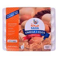 Saha Omega3 White Medium Eggs x Pack of 30