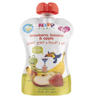 Hipp Organic Strawberry, Banana & Apple 100g