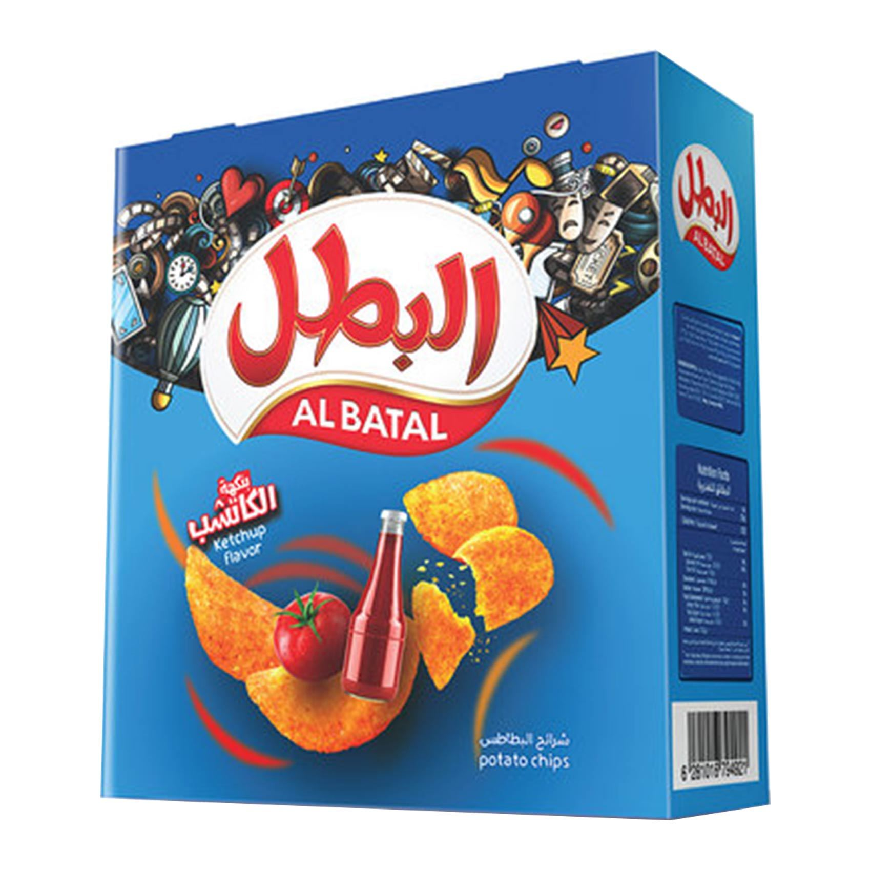 Buy Al Batal Chips Ketchap 23 G Times 14 Online Shop Food Cupboard On Carrefour Saudi Arabia