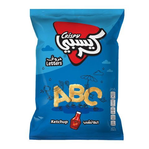 Buy Crispy Letter Ketchup Chips 80 G Online Shop Food Cupboard On Carrefour Saudi Arabia