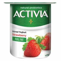Activia Full Fat Stirred Strawberry Yoghurt 120g