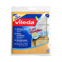 Vileda Window Cloth Pack Of 2