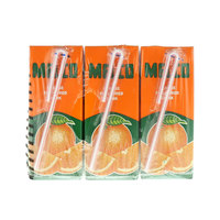 Melco Orange Flavored Drink 250ml x Pack of 9