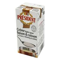 President UHT Thickening And Cooking Cream 1L