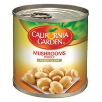 California Garden Whole Mushrooms 184g