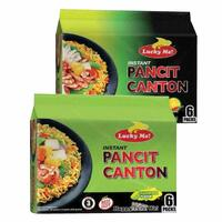 Lucky Me Pancit Canton Hot And Spicy 60gx12