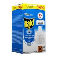Raid liquid mosquito killer refill odorlees 30 night 1 piece