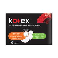 Kotex Ultra Thin Pads Super 8 Pads