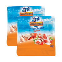 Captain Fisher Crab Chunk 500GR X2