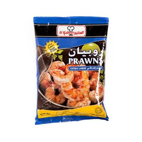 Buy Al Kabeer Large Prawns 400 G Online Shop Frozen Food On Carrefour Saudi Arabia
