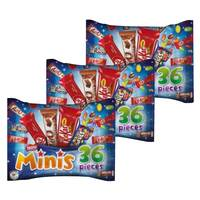 Nestle Mini Mix Chocolate Bag 480g x Pack of 3