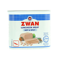 Zwan Luncheon Meat Hot and Spicy 340g