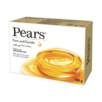 Pears Pure & Gentle Soap Bar with Natural Oils 98% Pure Glycerin 125g