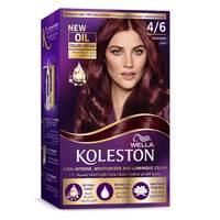 Wella Koleston Permanent Hair Color Kit 4/6 Burgundy