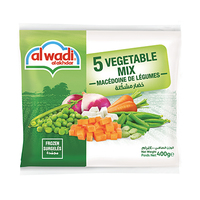Al Wadi Al Akhdar Mixed Vegetables Frozen 400GR