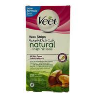 Veet Natural Wax Strips 20 Pieces