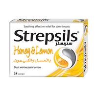 Strepsils Honey & Lemon 24 Pieces