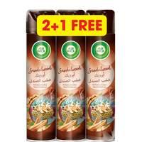 Airwick Sandalwood Air Freshener 300ml x Pack of 3