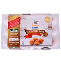 Saha Pasteurized Shell Eggs x Pack of 15