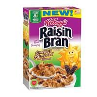 Kellogg's All Bran Raisin Cereal 500g