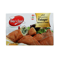 Tony's Food Fatayer Spinach & Potato 12 Pieces 450GR