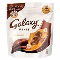 Galaxy Minis Hazelnut Chocolate Bars 150g