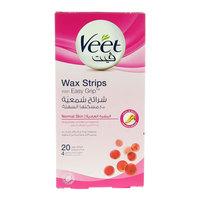 Veet Normal Skin Easy Grip Wax Strip 20 Counts