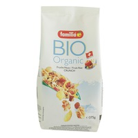 Familia Bio Organic Fruit Nut Crunch 375g
