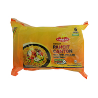 Lucky Me Instant Pancit Canton Sweet & Spicy Noodles 60g x Pack of 6