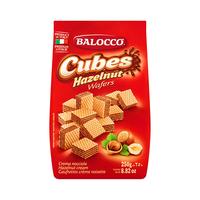 Balocco Cubes Wafer Hazelnut 250GR