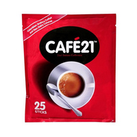 Cafe 21 Instant Coffeemix No Sugar Sticks 20GR X25