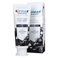 Crest 3D White Whitening Therapy Toothpaste With Charcoal 75ml