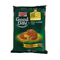 Britannia Good Day Pista-Almond Cookies 90g x Pack of 8