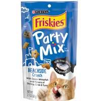 Purina Friskies Beachside Crunch Party Mix Cat Treats 60g
