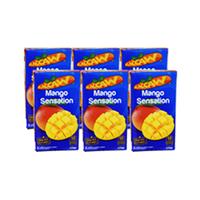 Maccaw Juice Mango 125ML X6