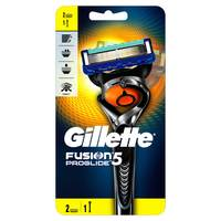 Gillette Fusion ProGlide men's razor with Flexball Handle Technology and 2 Razor Blade Refills 2 Counts