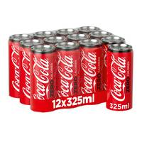 Coca cola zero can 12 x 325 ml