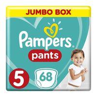 Pampers 5 jumbo box pants 12 - 18 kg x 68