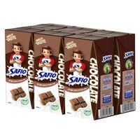 Safio UHT Milk Chocolate Flavor 200ml x 6 pack