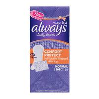Always pantyliners comfort protect wrap natural 20 pieces
