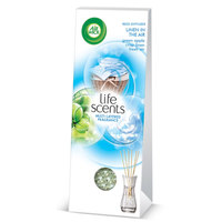 Air Wick Life Scents Multi-layered Fragrance Reed Diffuser Green Apple Crisp Linen Fresh Air 30ml