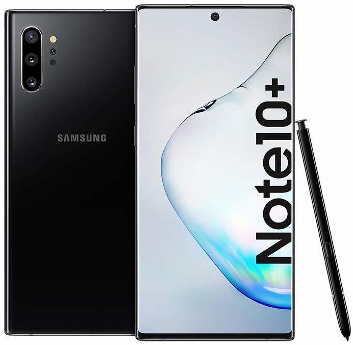 Buy Samsung Galaxy Note 10 Plus Smartphone Dual Sim 256gb 12gb Ram 4g Lte Aura Black Online Shop On Carrefour Uae